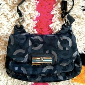 BRAND NEW COACH BAG - Kristin Op Art - NEVER USED!
